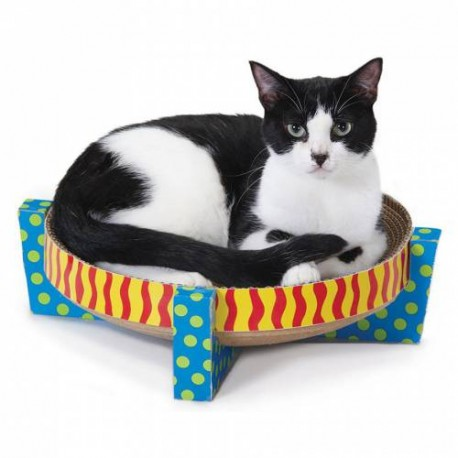 PETSTAGES Chat - Griffoir Easy Life Scratch Snuggle and Rest