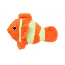 Poisson Clown phosphorescent catnip pour Chat - BUBIMEX
