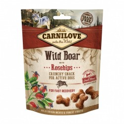CARNILOVE Crunchy Snack WILD BOAR with Rosehips pour Chien (sanglier) 200gr