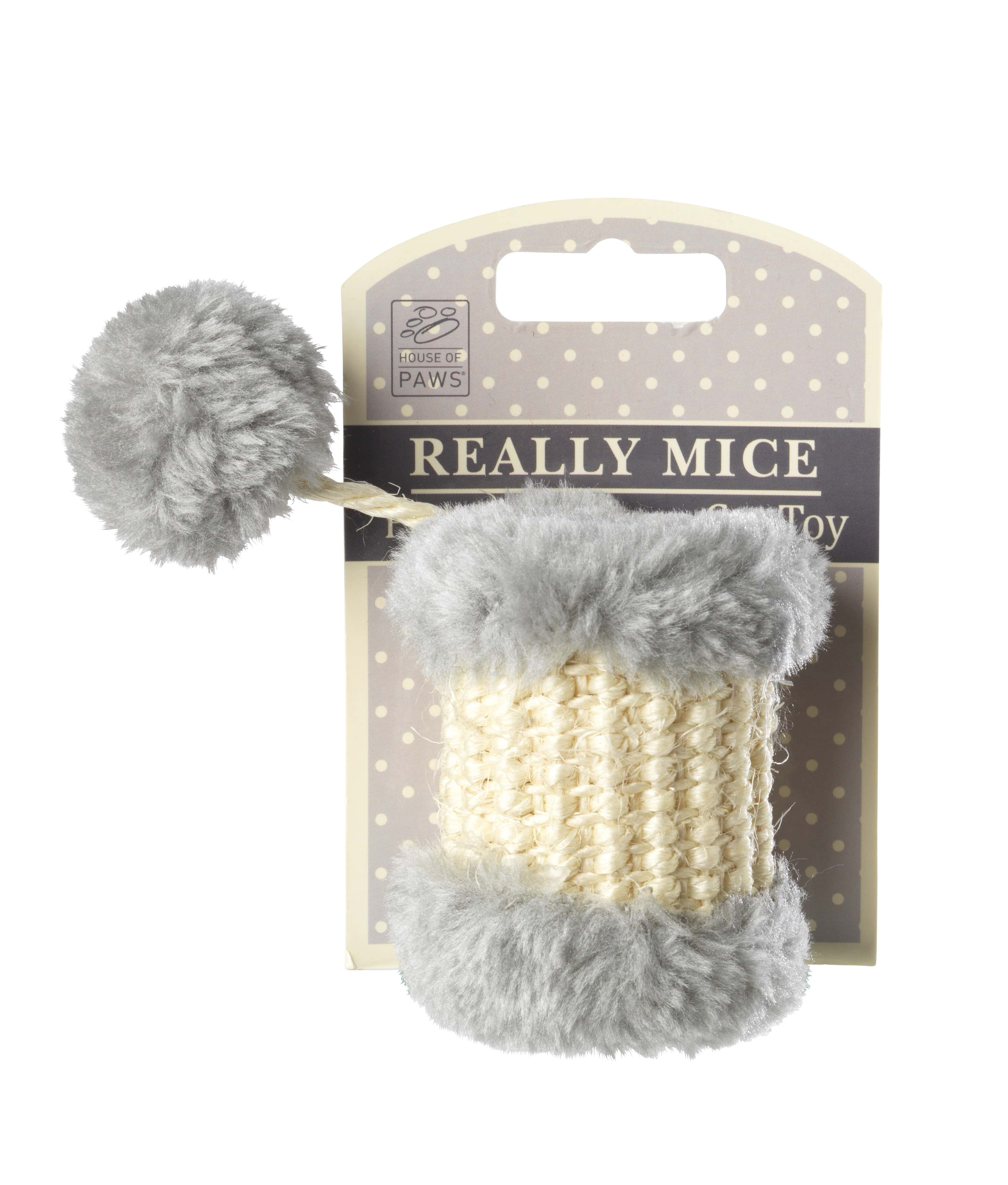 Cylindre pour Chat Really Mice - Pom Pom Drum Cat Toy - HOUSE OF PAWS