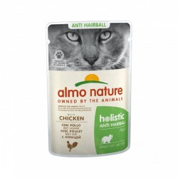 ALMO NATURE Holistic Fonctionnel Anti Hairball au Poulet 70gr