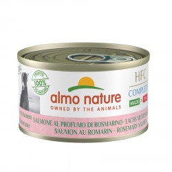 ALMO NATURE HFC Complete Made in Italy SAUMON au romarin pour Chien boîte 95gr
