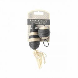 Souris et Balle pour Chat Really Mice - Mouse and Ball set - HOUSE OF PAWS