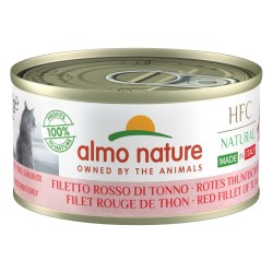 ALMO NATURE HFC Natural Made in Italy FILET ROUGE DE THON pour Chat boîte 70gr