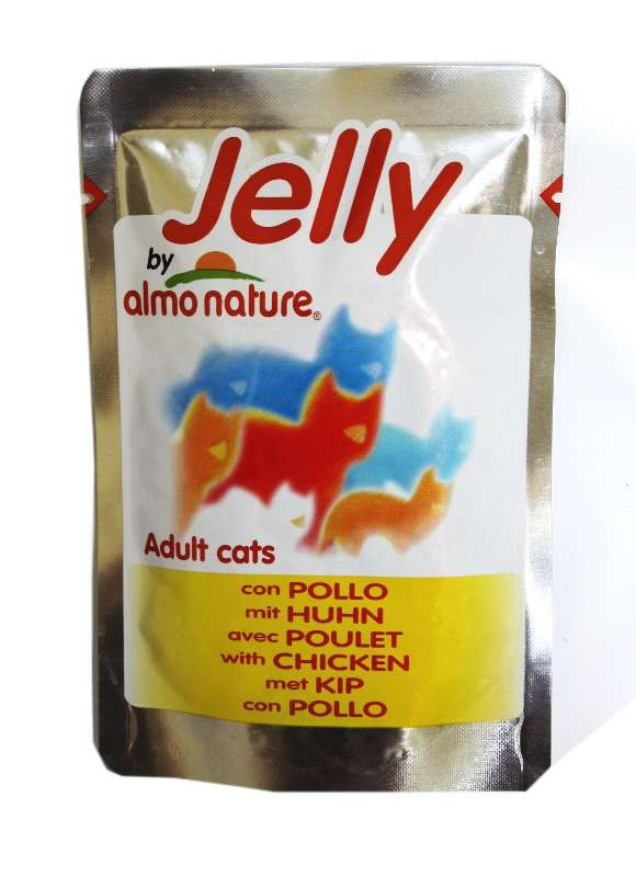 PROMO ! JELLY Chat Poulet 70gr