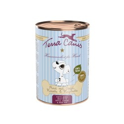 TERRA CANIS Puppy, Boeuf pour Chiot 400gr